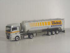 MAN TGX Tanksattel LKW MICHEL Bau GmbH - Herpa 1:87 Exclusive - 929127 #E