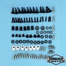 For Suzuki GSX-R1000 05-06 Complete Fairing Bolt Kit Body Screws Bolts Stainless