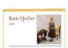 1:12 Visual Mini Doll Dressing Made Easy~By Dana  ~ KATIE QUILTER ~PDF- DOWNLOAD