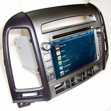 In Dash Car Stereo Radio CD DVD Player GPS Navigation For Hyundai Santa FE + Map