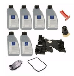 NEW For Mercedes Transmission Conductor Plate+Connector+Filter+Gasket+Lock+Oil