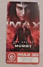 IMAX 3D COLLECTIBLE TICKET TOM CRUISE THE MUMMY /1000