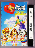 RARE POUND PUPPIES THE FAIRY DOGMOTHER VHS VIDEO TAPE 1988 Vintage