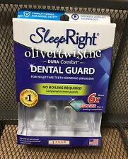 NEW Sleep Right No-Boil Dental Guard Dura Comfort w/ Storage Case
