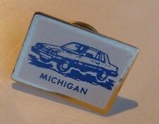 Michigan Automobile USA Lapel Hat Souvenir Pin
