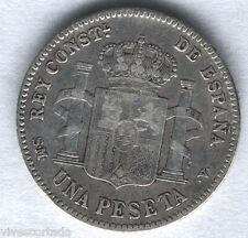 Alfonso XIII 1 Peseta 1902 Tupe @ Muy Bella @