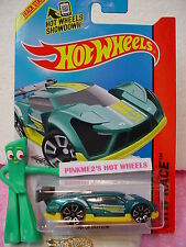 Case B 2015 i Hot Wheels Super Blitzen #148∞Teal Green/Yellow;Trap5∞Worl d Race