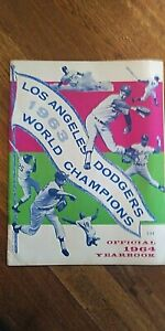 1964 Los Angeles Dodgers Yearbook