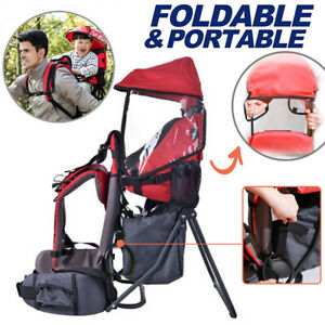 Baby Toddler Backpack Carrier Hiking Walking Kids Carrier With Sunshade Shield
