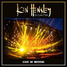 Ken Hensley & Live Fire(CD/DVD Album)Live in Russia + Interview-Secret-New