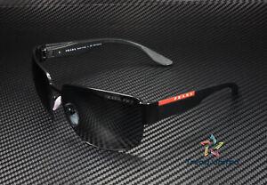 PRADA LINEA ROSSA PS 56VS 1BO02G Mt Black Polarized Dk Grey 62 Men's Sunglasses
