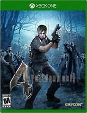 Xbox One game Resident Evil 4 HD NIP Package Shipping