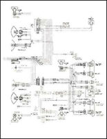 1972 CHEVROLET MONTE CARLO WIRING DIAGRAM MANUAL | eBay