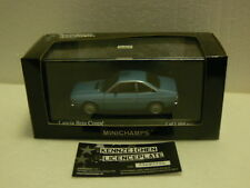 Minichamps LANCIA BETA COUPE in blu metallico 1981 1:43 RARA LTD ED 1,008 PZ