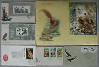 s2122) VR China über 1000 Ersttagsbriefe Sammlung 80er - 2012 dabei Seiden FDC