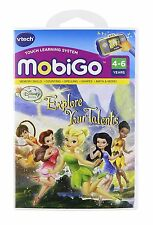 Vtech MobiGo 1 2 Game - Disney Fairies: Explore Your Talents! 3-5 years