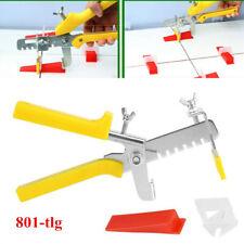 801-tlg Nivelliersystem Zuglaschen Fliesen Verlegehilfe Laschen 1.5mm Werkzeug