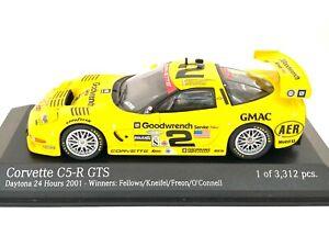 Ltd Ed 1:43 scale Action Chevrolet Corvette C5-R 2001 Daytona Sports Car Model