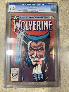 WOLVERINE Limited Series #1  CGC 9.6 NM+  Marvel 1982  Frank Miller (X-Men)