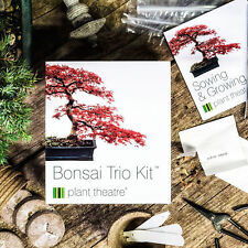 BONSAI TREE KIT GROW YOUR OWN TREES FROM SEED GARDENING GIFT BOX