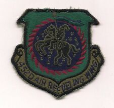 452d AIR REFUELING WING USAF U.S. AIR FORCE MILITARY INSIGNIA PATCH (ref. 498)