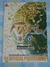 Corinthians v Chelsea 2012 Fifa Club World Cup Final Program