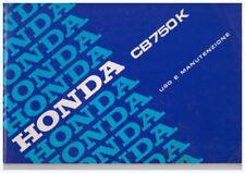 Anleitung Anleitung Honda CB750K