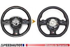 Échange S-LINE Aplati Volant Multifonction Cuir Audi A3, A4, A5, A6, A7 Q5