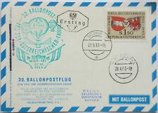 Österreich, 30. Ballonpostflug 1963 (Pro Juventute) (3677)