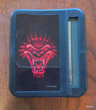 Evil Red Dragon Face Tobacco Cigarette Rolling Machine and Safe Box