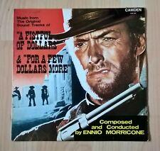 ENNIO MORRICONE - A FISTFUL OF DOLLARS & FOR A FEW DOLLARS MORE - VINYL LP (VG+)