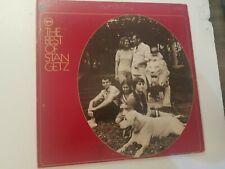 Stan Getz The Best Of Stan Getz 1967 Verve V6-8719 Stereo Gatefold