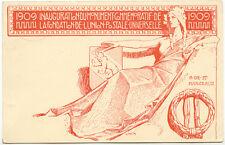 "CH ""WOLFGANG (GRAUBÜNDEN)"" seltene K2 a. 10 C. rot Sonder-GA-Postkarte UPU"