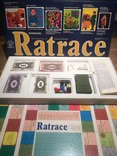 Vintage Waddingtons 1973 RATRACE Board Game French/English Instructions Complete