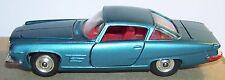 RARE MADE GREAT BRITAIN 1963 CORGI TOYS CHRYSLER GHIA BLEU 6.4 V8 ENGINE REF 241