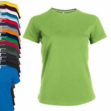 NEU - Kariban Lady Fit Kurzarm Rundhals T-Shirt - S-3XL - 19 Farben