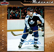 LANNY McDONALD Toronto Maple Leafs Autographed 8 x 10 Photo - 70166