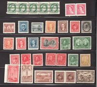 Lot of old Canada 6x MH the rest are MNH stamps -  superfleas - cv$?