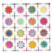 Harlequin Stars - foundation paper pieced quilt PATTERN - Emma Jean Jansen