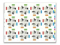 Australia 2007 Architecture Landmarks Uncut Sheets/12 Imperf Mini Sheet Stamps