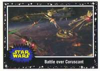 2015 Star Wars Journey To The Force Awakens Black #10 The Clone Wars begin Topps