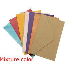 50Pcs/lot Retro Colored Blank Mini Paper Envelopes Wedding Invitation Envelope