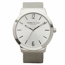 Kenneth Cole 10017141 Men's Silver Dial Steel Mesh Bracelet Watch