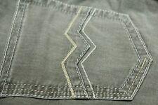 DESIGNER Men's JEANS Gardeur 36 X 30 Brown 98% Cotton SuperFlex Modern Fit $220