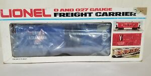Lionel Erie Lackawanna Freight Carrier 9726 O SCALE