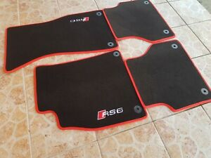 Floor mats Audi A6 C8 RS6