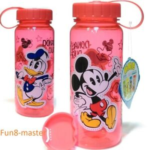 Mickey Mouse Donald Duck BPA Free Tritan Water Bottle Drink Container Travel Mug