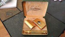 Vintage Gold Plated Gillette Shaving Kit