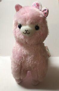 Alpacasso Mokomoko Ribbon AMUSE Plushie Pink Version 40 cm