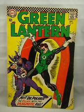Green Lantern Comic Book # 47 1966 DC Good First Appearance Of Dr. Polaris